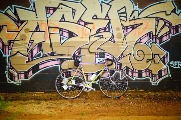 Graffiti wall-loved it